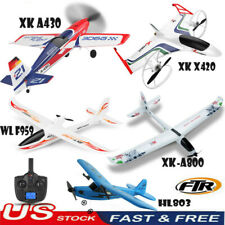 2.4GHz RC Airplanes RTF Beginner RC Plane Electric Remote Control Aircraft US