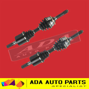 2 x New CV Drive Shaft For ISUZU D-Max Dmax 3.0L Turbo Diesel 06/12-12/16