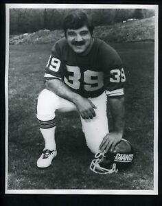 Larry Csonka circa 1970's Press Premium Photo New York Giants Football