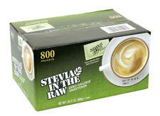 Stevia in the Raw, Packets (800 ct.) Brand New. Ships Fast