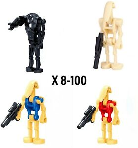 Star Wars Battle Droid / Clone Trooper Minifigures! USA SELLER!COMES WITH GUNS!