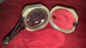 Vintage D.W. Brunton's Pocket Transit Compass; International Model