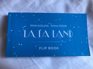 La La Land Flip Book VERY RARE ITEM COLLECTIBLE Movie Memorabilia Like New