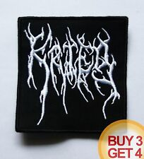 KRIEG W PATCH,BUY3GET4,NARGAROTH,INQUISITION,LEVIATHAN,BLACK METAL,IMMORTAL,ABSU