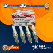 PACK of 4 TOYOTA 90919-01191 DENSO 3421 SK20HR11 Spark Plugs Iridium Long Life