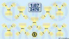 2476 - Decals Warnwesten - Polizei 1:87