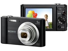 A - Sony Cyber-shot W800 Digital Camera: Black