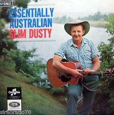 SLIM DUSTY Essentially Australian LP - Rare Original Columbia Label  SirH70