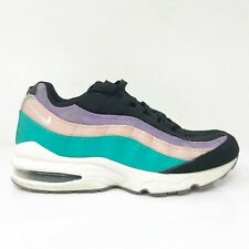 New listing Nike Boys Air Max 95 CI5645-001 Multicolor Running Shoes Lace Up Low Top Size 6Y