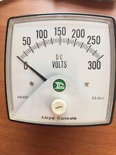 CROMPTON 016-010 VA-RXRX PANEL METER 0-300 AC V * USED *