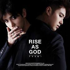 TVXQ - [RISE AS GOD] Special Album (Black.ver) CD + Booklet Sealed K-POP TVXQ