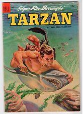 Dell Edgar Rice Burroughs TARZAN #55 Al Rosen Ad Back - FN 1954 Vintage Comic
