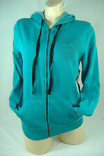 New Junior Womens XS O'neill Oneill Teal Love Zip Hoody Jacket