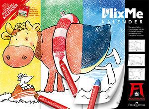 Ackermann Wandkalender MixMe kreativer AUSMALKALENDER 2013 NEU OVP verlagsfrisch