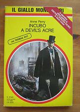 ANNE PERRY: Incubo a Devil's Acre  p. e. 1990