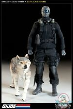 Gi Joe Snake Eyes and Timber Sixth Scale Figure Set Sideshow