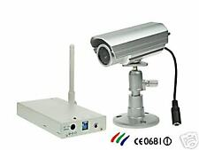 CAMERA COULEUR SANS FIL ETANCHE LED INFRAROUGE/SECURITE
