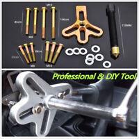 21PC Harmonic Balancer Kit Gear Pulley Puller Steering Wheel Crankshaft Car Tool
