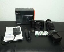 Sony DSC-RX100 III 20.1 MP Digital SLR Camera with SD card, 3 batteries and more