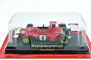 Ferrari formula 1 F1 Gp Scale 1/43 312 B3-73 Merzario Model Car diecast IXO