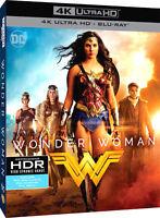 WONDER WOMAN Il Film (BLU-RAY 4K ULTRA HD + BLU-RAY) Warner Bros con Gal Gadot