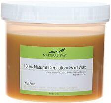Natural Way 100% Natural Depilatory Hard Wax 16 oz 680 g