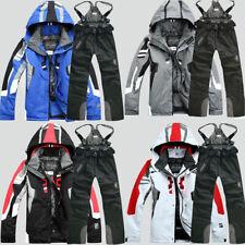 Herren Wasserdichte Outdoor-Mantel Skianzug Jacke+Hose Snowboard Bekleidung 2XL+