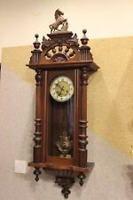 Musicbox Melody Junghans germany wall clock 1900