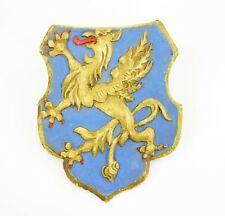 Wappen Funeralwappen 17.Jahrhundert Holz gefasst Greif