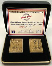 Highland Mint Frank Thomas and Ken Griffey, Jr Bronze Coin with Case 0791/2500!