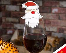 Père Noël Carte De Place Verre À Vin Noël Ho Ho Ho Décorations