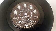"JOHN LENNON & YOKO ONO ""HAPPY XMAS (WAR IS OVER "" UK  7"" vinyl BEATLES"