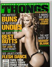 American Curves THONGS fitness model magazine/Mandy Blank Winter 2008