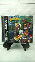 Crash Bandicoot Warped PlayStation 1 PS1 Complete Black Label Tested