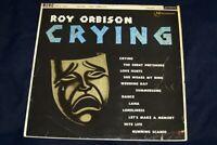 Roy Orbison LP Crying UK Mono London PLUM  HA-U2437 VG/VG/CONDITION ''