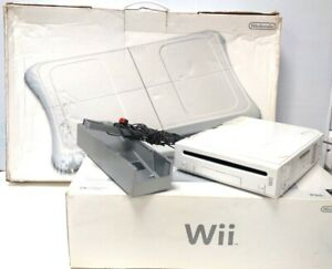 Nintendo Wii Console + Wii Fit Board - Used