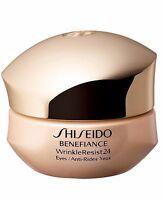 SHISEIDO Benefiance WrinkleResist24 Intensive Eye Contour Cream 15ml NEW