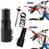 Fahrrad MTB Lenkererhöhung Vorbauverlängerung Gabelschaftverlängerung Lenker Alu