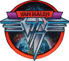 110043 Van Halen Metal Logo Space Background Rock Music Band Sew Iron On Patch