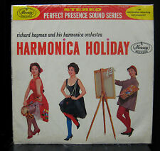 Richard Hayman Harmonica Holiday LP VG+ Mercury Colombia Stereo PPS 6005 Rare