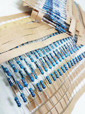 5PCS Pack Of Resistors - 72 Values to choose 1R~1M - 1/4W 1% Metal Film Resistor