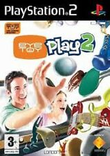 EYE TOY PLAY PER PLAYSTATION 2 GAME FOR PS 2 USED GIOCO USATO