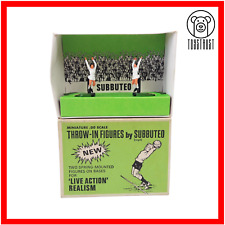 More details for subbuteo throw in figures vintage set c132 no 21 table football retro toy s4