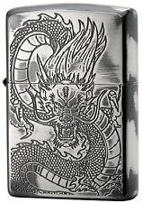 ZIPPO Lighter NO200 Japanese design Dragon Silver 1201S540 from Japan Best Buy