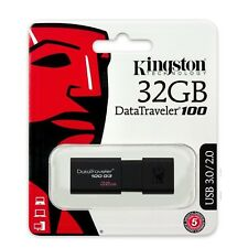 Pendrive 32GB Kingston 32 GB USB 3.0 - DT100G3/32GB