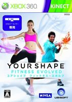 Game Your Shape Fitness Evolved/Xbox360 Import Japan