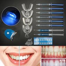 Home Dental Teeth Tooth Whitening Kit Whitener Bleaching Oral Gel LED Light