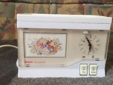Vintage Swan Electric Teasmade Model DO1-1 with Clock Tea Maker