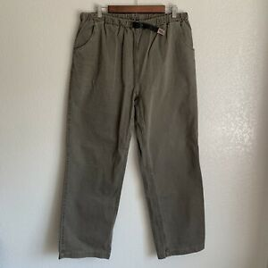 Gramicci Men's Brown Belted Pants Size Large