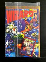 WIZARD Comics Magazine #17 January 1993 POLYBAGGED w CARDS COMBINE SHIPPING